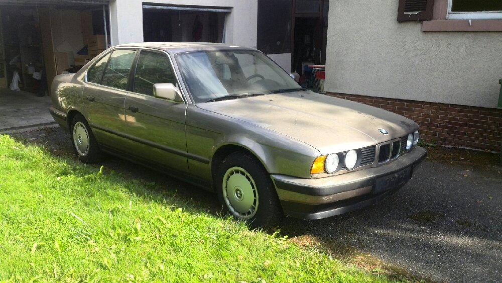 Erbstück 525i - 5er BMW - E34