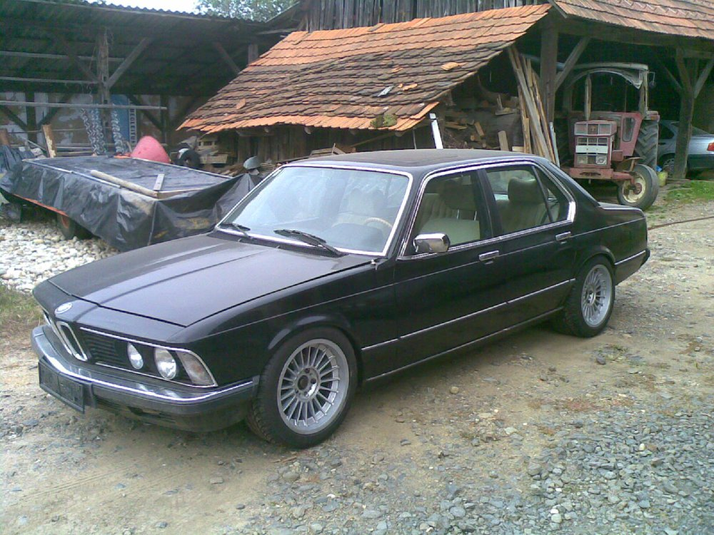 BMW 745i TURBO Fotostories Weiterer Modelle Youngtimer