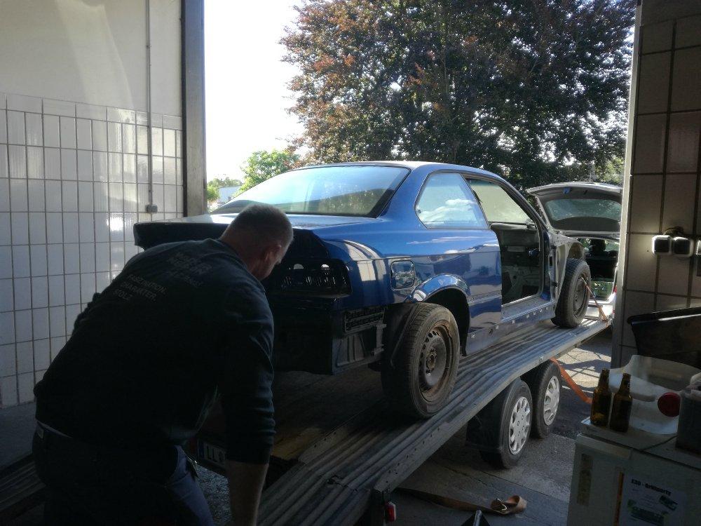 BMW E36 M3 Coupe avusblau Glasschiebedach - 3er BMW - E36