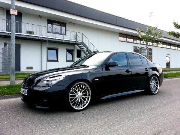 """... carbon black ... breyton 20""""/ gewindefahrwerk - 5er BMW - E60 / E61"""