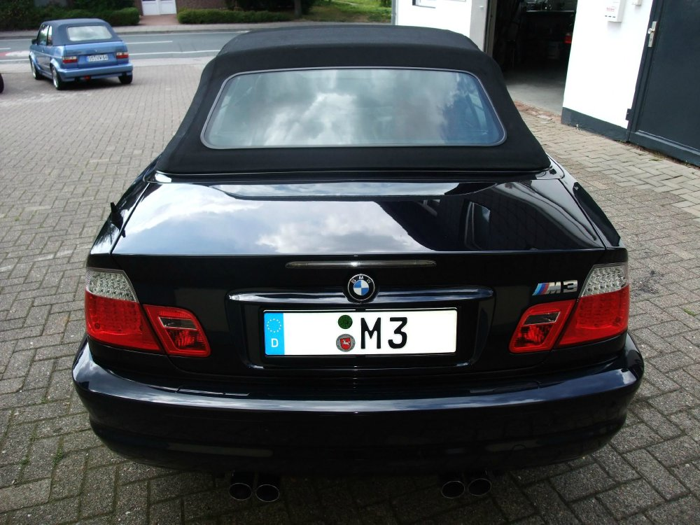 bmw m3 cabrio carbonschwarz 3er bmw e46 m3 tuning fotos bilder stories. Black Bedroom Furniture Sets. Home Design Ideas