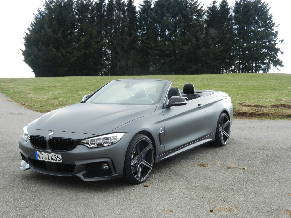 435i m performance cabrio grau matt metallic 4er bmw f32 f33 f36 f82 cabrio. Black Bedroom Furniture Sets. Home Design Ideas
