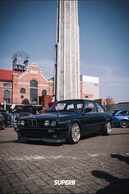 Kleiner im neuen Dress - 3er BMW - E30