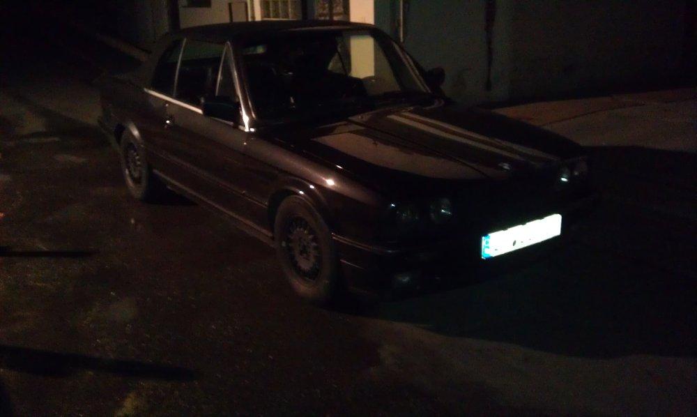 E30 320i Cabrio Diamantschwarz - 3er BMW - E30
