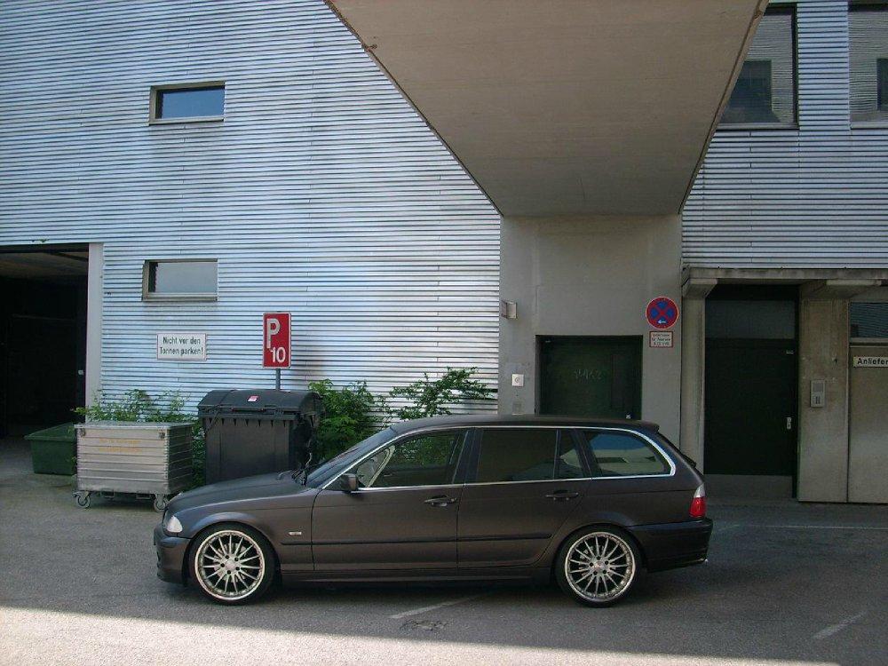 matt-brauner UNDER-DOG - 3er BMW - E46