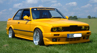 E30 318 is Yellow Vision