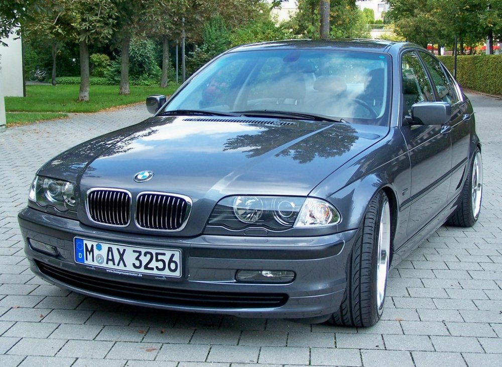 e46 323i kompressor 3er bmw e46 limousine tuning fotos bilder stories. Black Bedroom Furniture Sets. Home Design Ideas