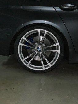 BMW M409 Felge in 9x20 ET 25 mit Michelin Michelin Pilot Sport Reifen in 275/30/20 montiert hinten mit 10 mm Spurplatten Hier auf einem 5er BMW F11 M550d (Touring) Details zum Fahrzeug / Besitzer