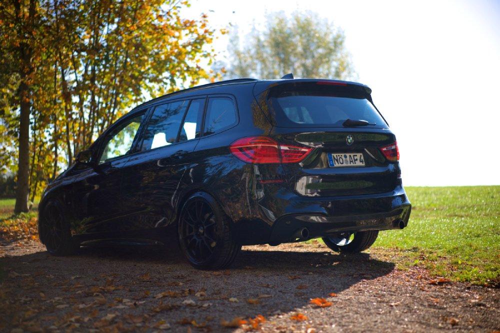 F46 220xd M-Paket Saphirschwarz, back in black - Fotostories weiterer BMW Modelle