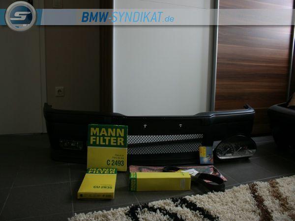 Mein Avusblauer Individual - Cabrio - 3er BMW - E36