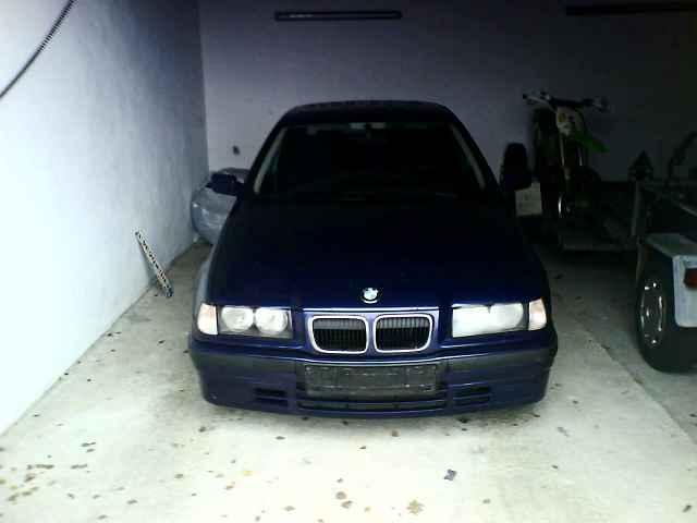 "E36 compact Montrealblau-Metallic ""Shadowline"" - 3er BMW - E36 -"