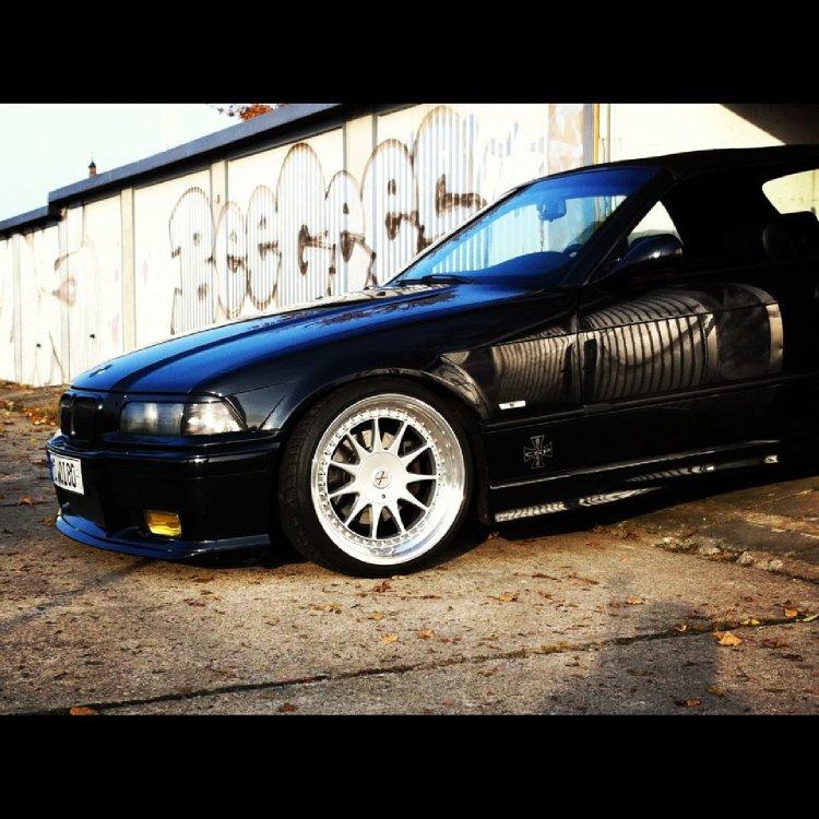 OEM Cabrio mit Hartge Wheels - 3er BMW - E36