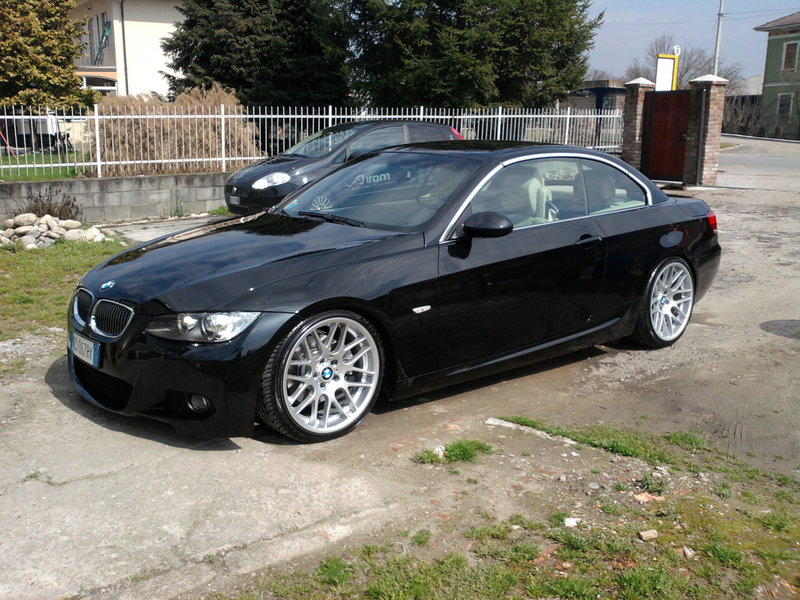 e93 325i wrappgrade matt brown 3er bmw e90 e91 e92 e93 storyseite 3 cabrio. Black Bedroom Furniture Sets. Home Design Ideas