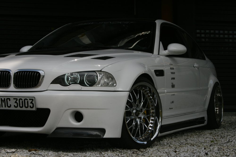 White sensation - 3er BMW - E46
