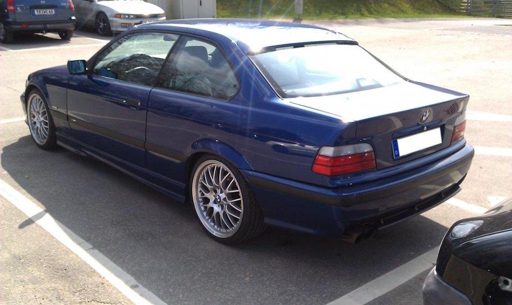 ///M Coupé in Avusblau - 3er BMW - E36