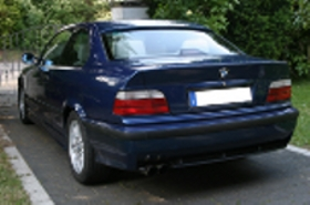 ///M Coupé in Avusblau - 3er BMW - E36 -