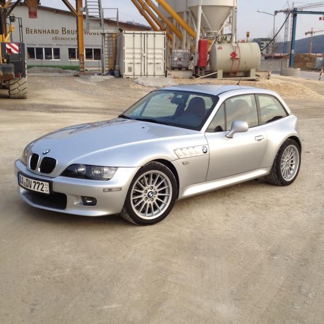 """Bmw Z4 Coupe Tuning: BMW Z3 Coupe 3.0 Titansilber [ BMW Z1, Z3, Z4, Z8 ] """"Z3"""