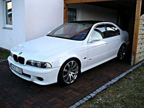 """E39 Weiss / Schwarz 19"""" M5 Optik-VERKAUFT! [ 5er BMW - E39"""