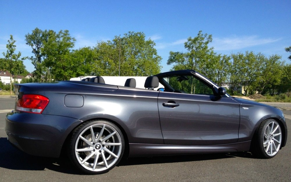 bmw 125i cabrio sparkling graphit 1er bmw e81 e82. Black Bedroom Furniture Sets. Home Design Ideas