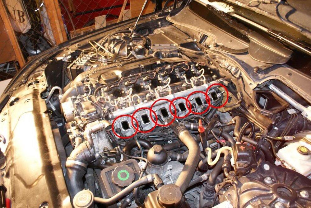 Ansaugbr 252 Cke Drallklappen Entfernen E60 Amp E61 5er Bmw