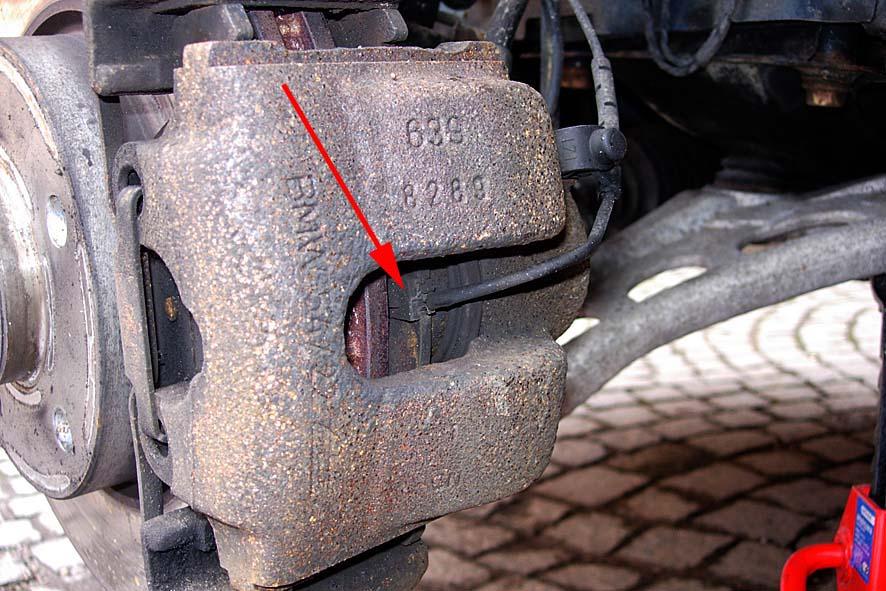 anleitung: festsitzenden bremssattel reparieren