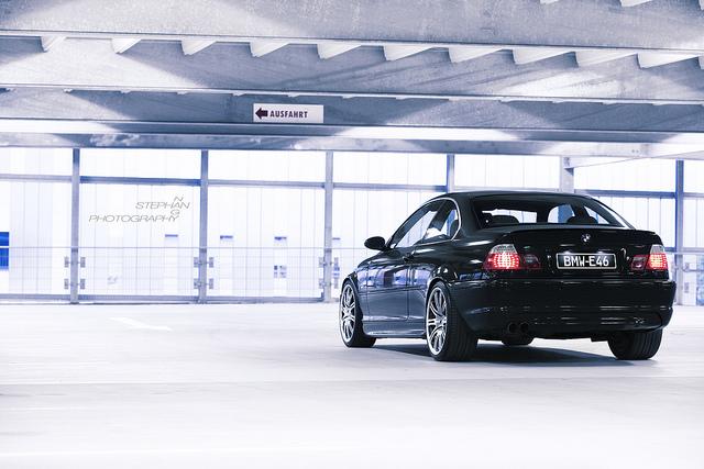 328ci Cosmosschwarz ///M 67 Frontpoliert - 3er BMW - E46