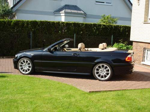 320 cia cabrio m paket 3er bmw e46 cabrio. Black Bedroom Furniture Sets. Home Design Ideas