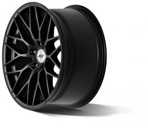 AEZ Antigua Black Felge in 8x18 ET 30 mit Hankook v12 Reifen in 225/40/18 montiert hinten mit folgenden Nacharbeiten am Radlauf: Kanten gebördelt Hier auf einem 1er BMW E87 120d (5-Türer) Details zum Fahrzeug / Besitzer
