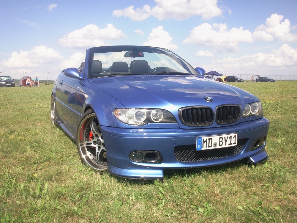 bmw e46 cabrio 330cd estorilblau 3er bmw e46 cabrio tuning fotos bilder stories. Black Bedroom Furniture Sets. Home Design Ideas