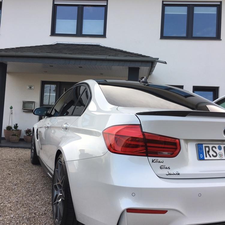 F80 Weißer Traum - 3er BMW - F30 / F31 / F34 / F80