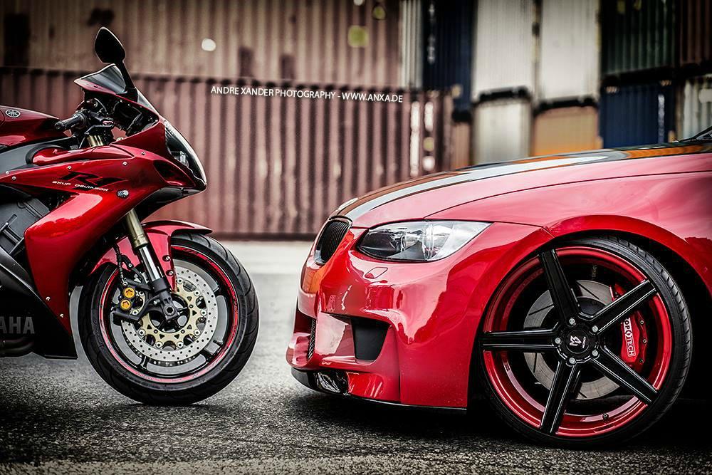 E92RED - 3er BMW - E90 / E91 / E92 / E93