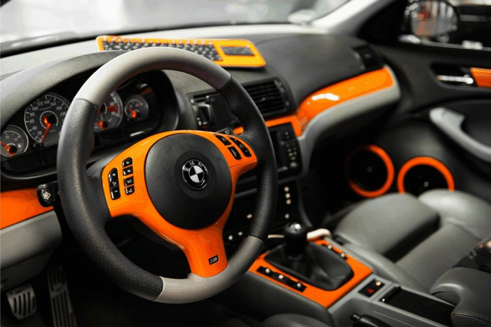 e46 orange trifft schwarz 3er bmw e46 limousine. Black Bedroom Furniture Sets. Home Design Ideas
