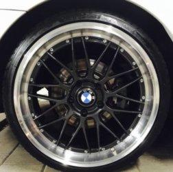 Dotz Revvo Felge in 9.5x19 ET 40 mit Hankook  Reifen in 255/30/19 montiert hinten Hier auf einem 3er BMW E92 320i (Coupe) Details zum Fahrzeug / Besitzer