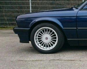 Alpina  Felge in 7x16 ET 28 mit Michelin Pilot Sport 3 Reifen in 205/50/16 montiert vorn Hier auf einem 3er BMW E30 318i (Cabrio) Details zum Fahrzeug / Besitzer