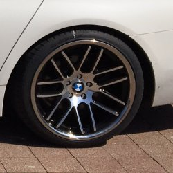 Keskin KT14 Black Front Polish Felge in 10x20 ET 30 mit Hankook Ventus S1 Evo2 K117 Reifen in 275/30/20 montiert hinten Hier auf einem 5er BMW F10 520d (Limousine) Details zum Fahrzeug / Besitzer