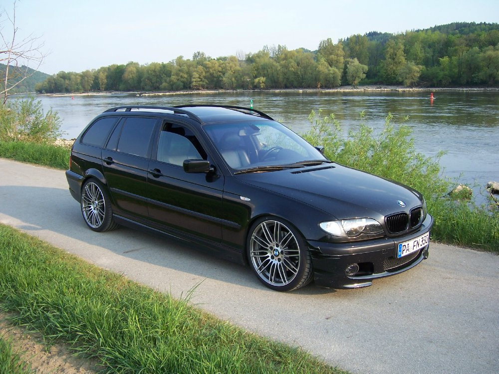 bmw e46 330d touring m paket ii 3er bmw e46 touring tuning fotos bilder stories. Black Bedroom Furniture Sets. Home Design Ideas
