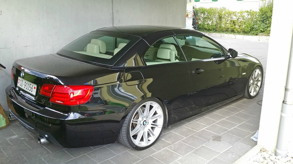 bmw 335i e93 cabrio lci facelift 3er bmw e90 e91. Black Bedroom Furniture Sets. Home Design Ideas