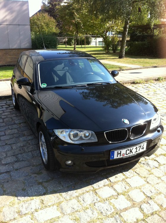 1er bmw 118i black 1er bmw e81 e82 e87 e88 5. Black Bedroom Furniture Sets. Home Design Ideas