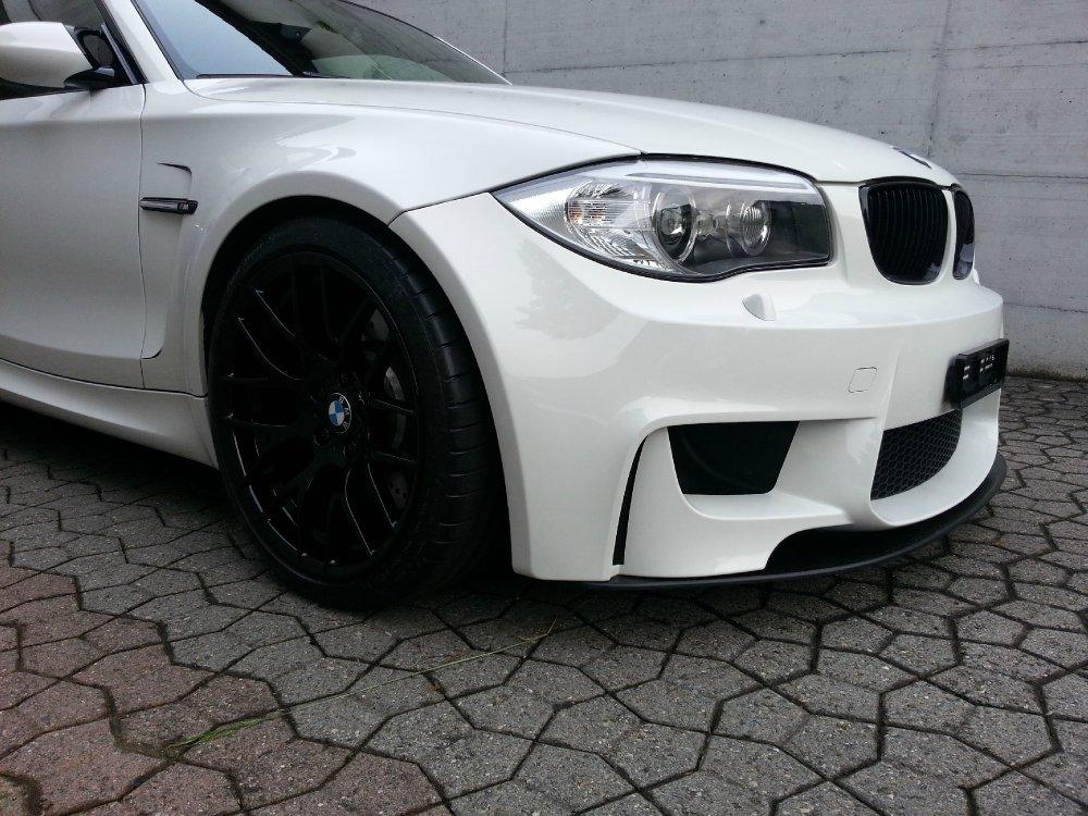 BMW 1M weiss - 1er BMW - E81 / E82 / E87 / E88