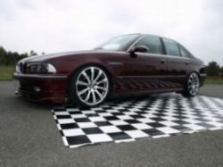 E39 Limo in Canyonrot ->Bilder Winter Set-up!1.12.