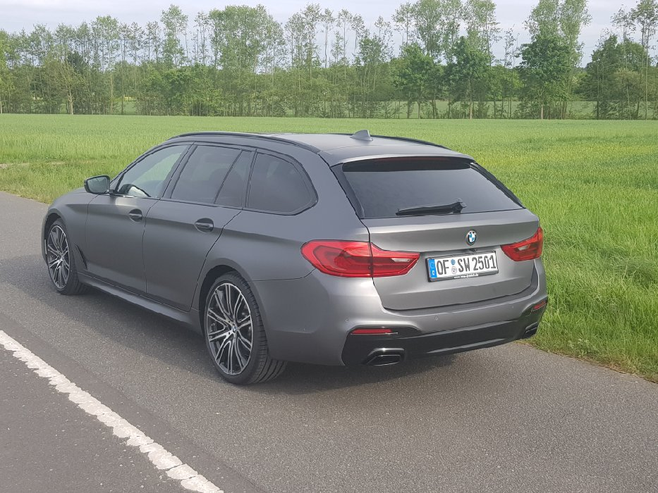 G31 530d Touring Matt Grey metallic - 5er BMW - G30 / G31 und M5