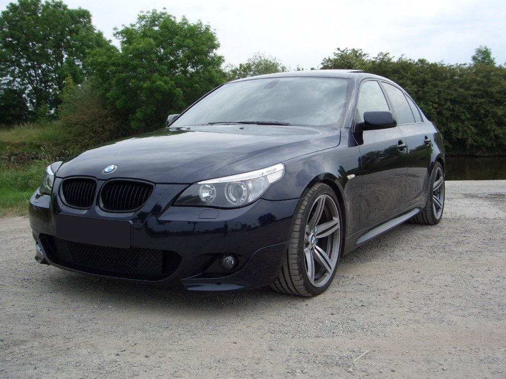 bmw 535d mit m6 felgen m167 5er bmw e60 e61. Black Bedroom Furniture Sets. Home Design Ideas