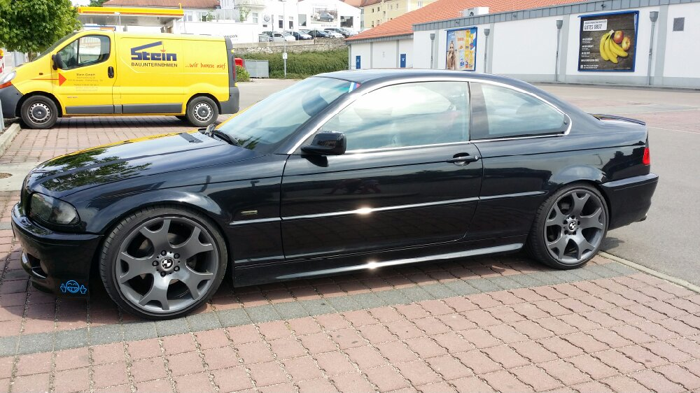 e46 coupe mit x5 felgen 3er bmw e46 coupe. Black Bedroom Furniture Sets. Home Design Ideas