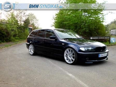 330i touring mit 19 3er bmw e46 touring tuning. Black Bedroom Furniture Sets. Home Design Ideas