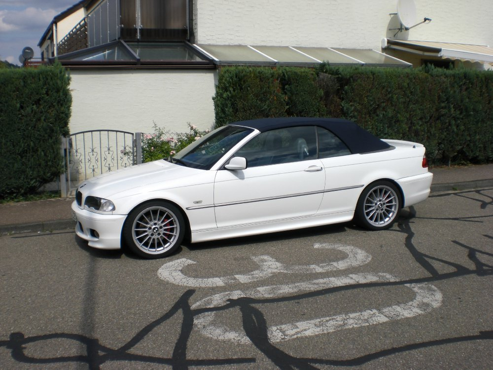 e46 323 ci wei update 3er bmw e46 cabrio tuning fotos bilder stories. Black Bedroom Furniture Sets. Home Design Ideas