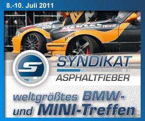 Clublogo * Syndikat-Asphaltfieber Orga TEAM 2011 *