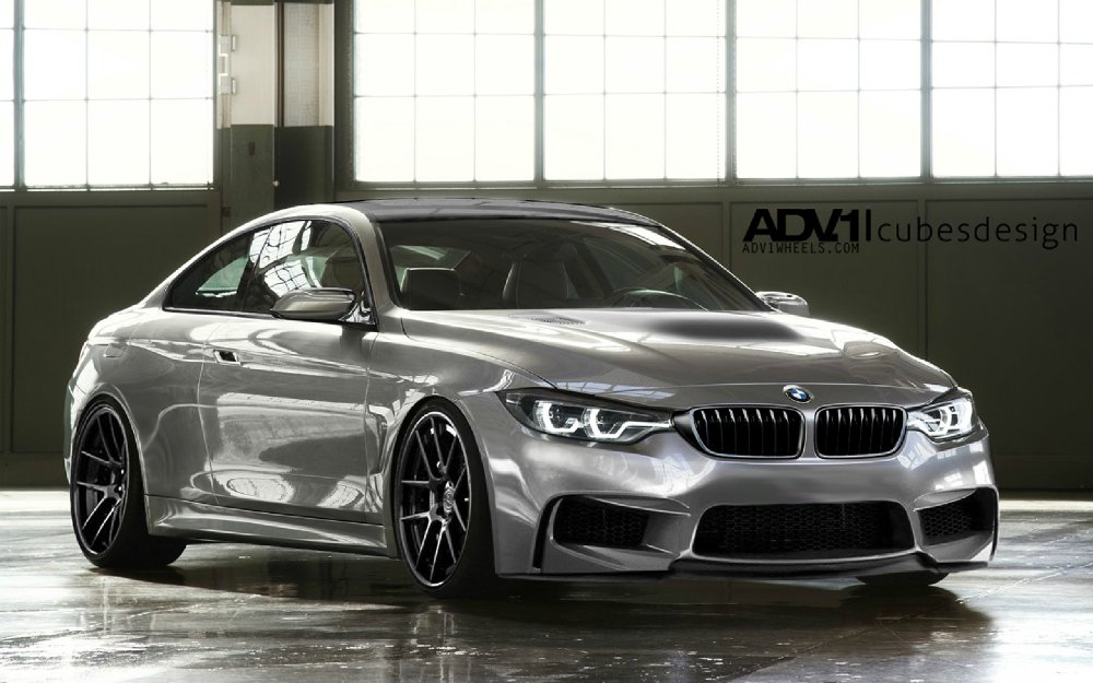 rendering bmw m4 f82 auf basis des bmw concept 4er coup f32 automobil und bmw news blog. Black Bedroom Furniture Sets. Home Design Ideas