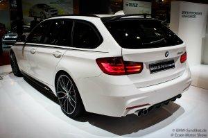 BMW-News-Blog: Weltpremiere_Essen_Motor_Show_2012__BMW_3er_Touring__F31__mit_BMW_M_Performance_Zubehoer