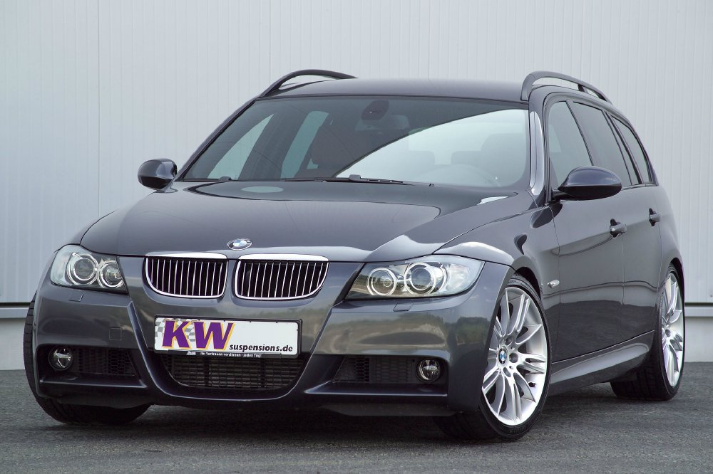 bmw 3er touring e91 mit kw ddc ecu fahrdynamik per iphone. Black Bedroom Furniture Sets. Home Design Ideas