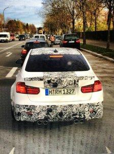 BMW-News-Blog: BMW M3 (F80): Erlk�nig zeigt schickes Heck mit vie - BMW-Syndikat